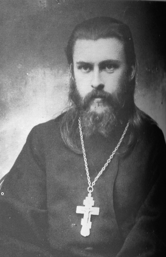 Father Seraphim before his martyrdom