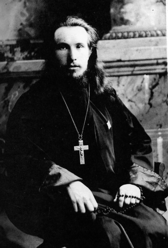 Archbishop Seraphim when he was Abbot of Tolga Monastery