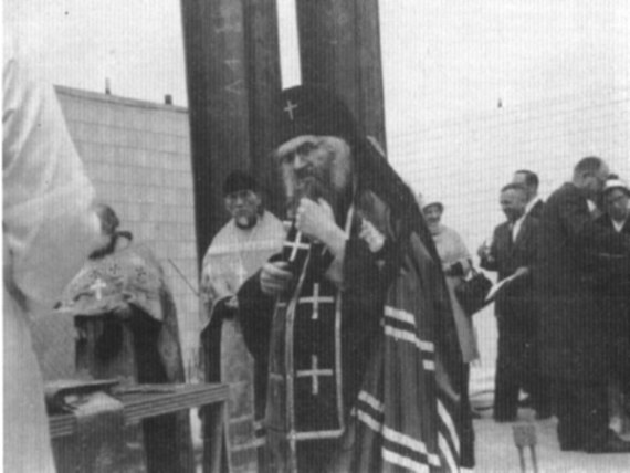 During the building of the San Francisco Cathedral