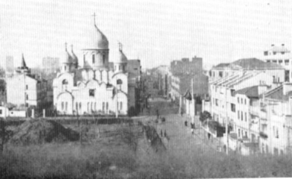 The Shanghai Cathedral, built under the direction of Bishop John in the 1930's