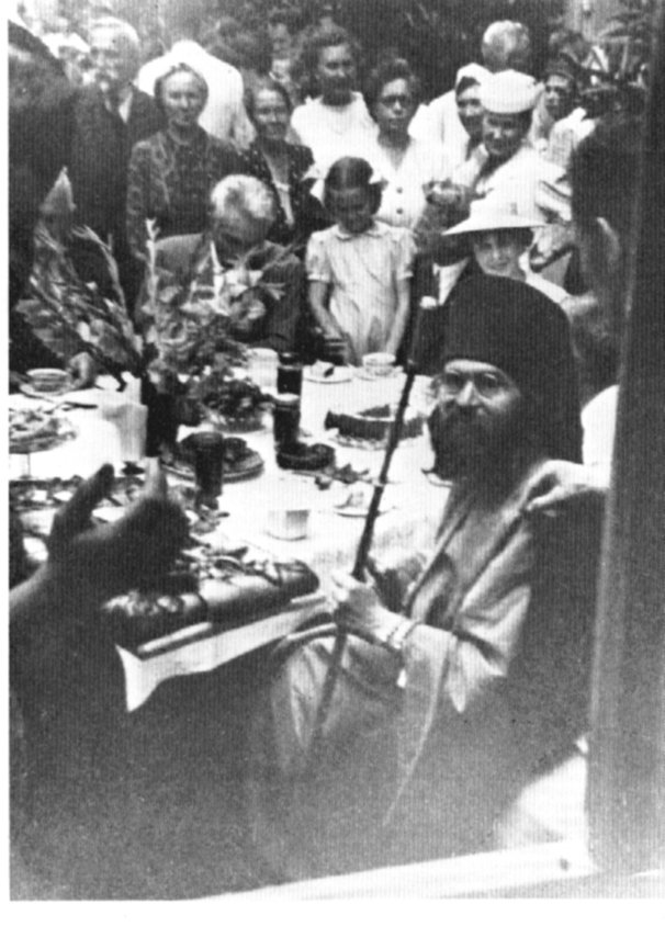 Reception of Bishop John in Shanghai, 1934