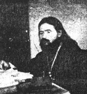 Bishop John in his office in Shanghai