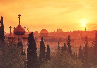 Jerusalem from the Mt of Olives