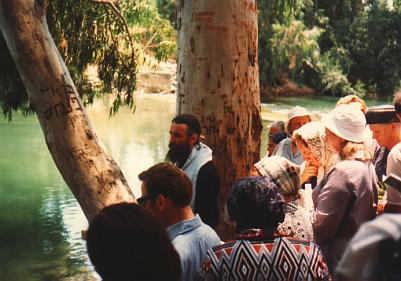 Pilgrims during the Blessing of Water (4)