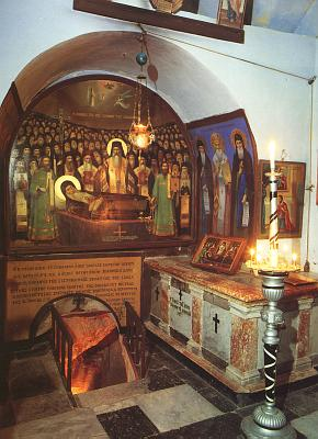 Tomb and cave of St. John of Damascus