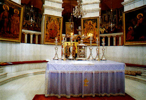 Altar of The Church of Resurrection