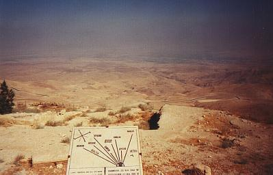 The Promised Land from Mt. Nebo, Jordan