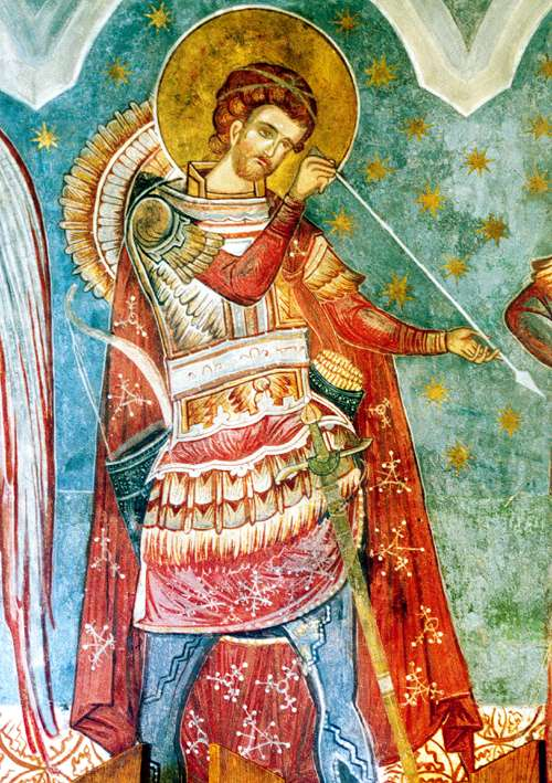 St. Dimitrie Church Fresco, Suceava, Romania (3)