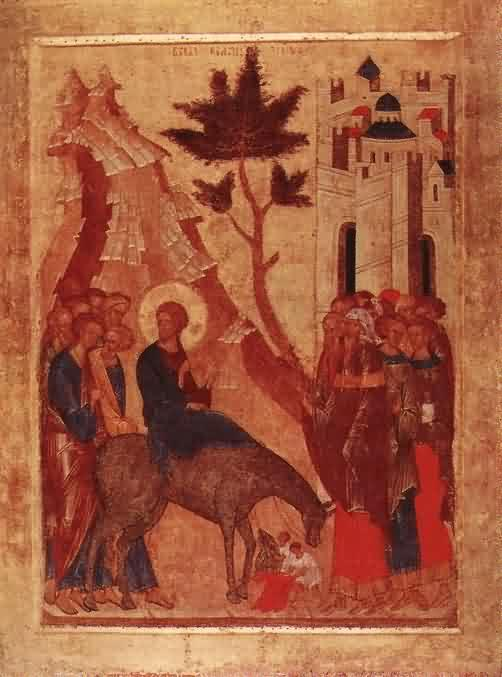 Palm Sunday - The Entrance to Jerusalem
