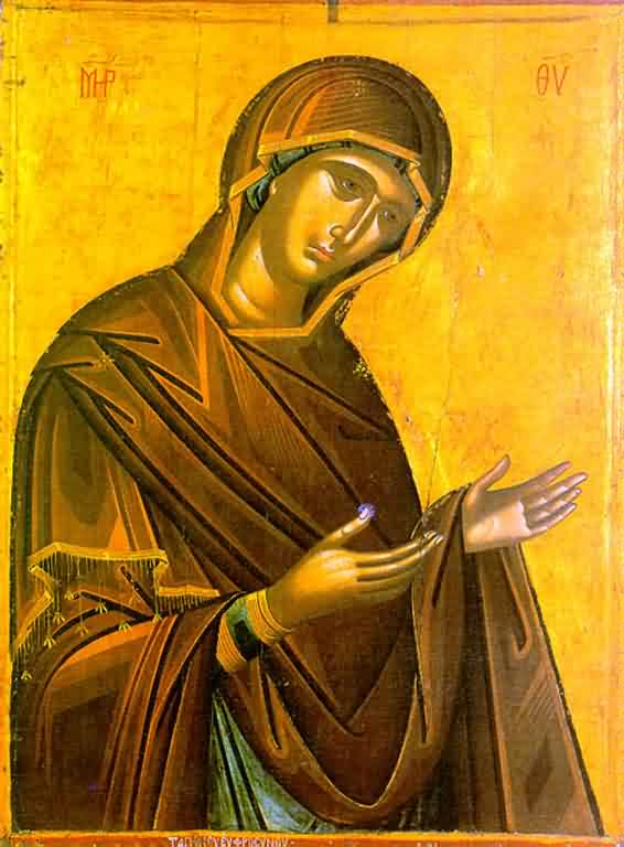 Theotokos Supplicating