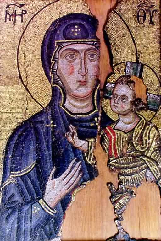 Mother of God with Christ (mosaic)