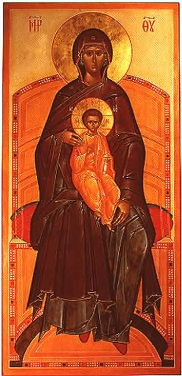 Panagia Enthroned