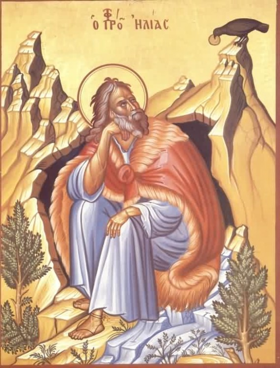 Holy and Glorious Prophet Elijah the Tishbite