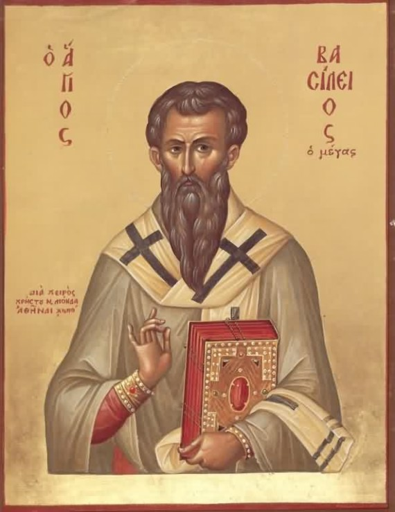 St. Basil the Great, Archbishop of Cappadocia