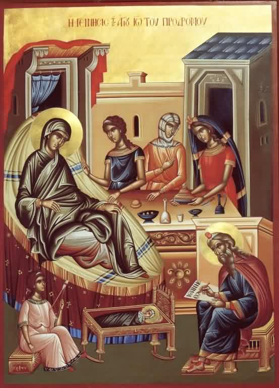 The Nativity of the Holy and Glorious Prophet and Forerunner and Baptist John