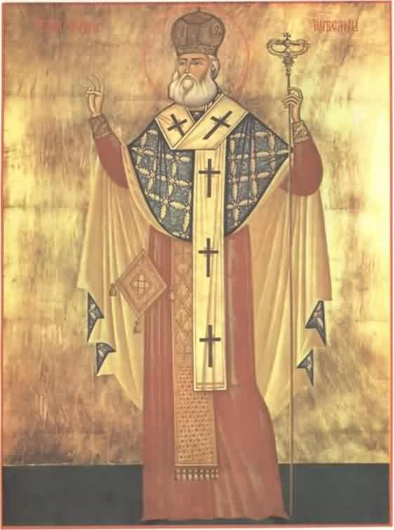 Holy Hieromartyr Anthimos the Ivirite, Metropolitan of Wallachia (Romania)