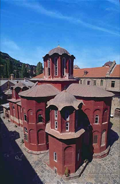 The principal church of the monastery was built in 1540 (2)
