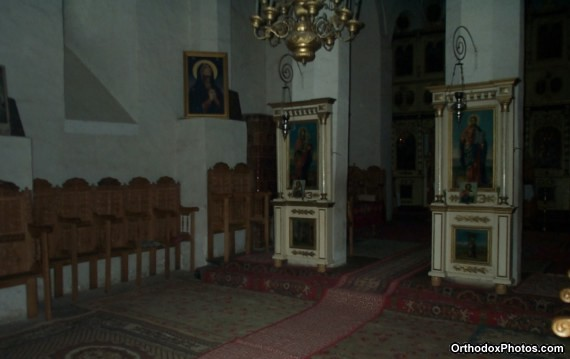 Inside the Church of the Barnova Monastery, Iasi, Romania (4)