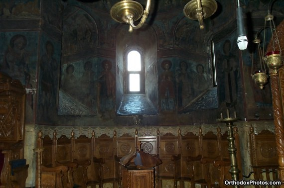Inside the Church of the Cetatuia Monastery, Iasi, Romania (7)