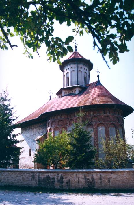 Holy Prophet Elijah Church, Suceava, Romania (east view)