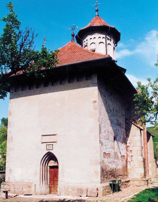 Holy Prophet Elijah Church, Suceava, Romania (west view)