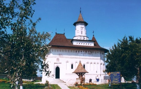 St. John the Baptist - Coconi Church, Suceava, Romania (south view)