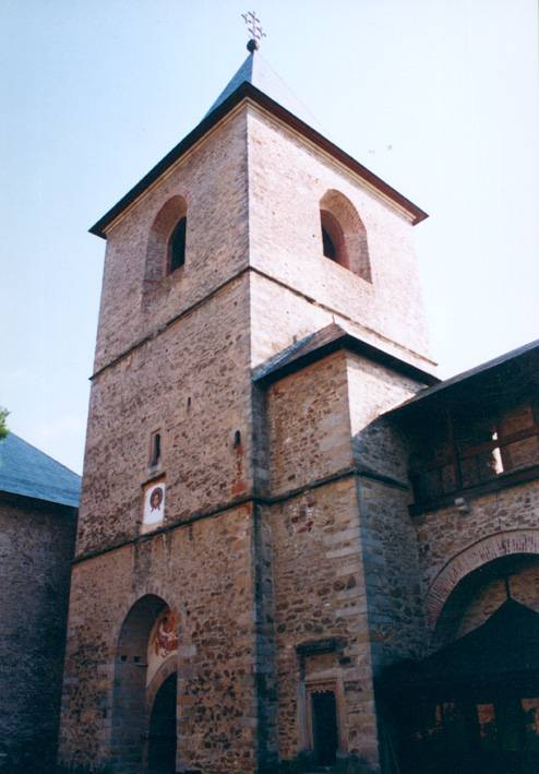 External wall tower - Dragomirna Monastery, Suceava, Romania