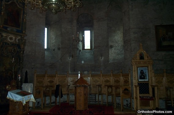 Inside the Church of the Galata Monastery, Iasi, Romania (3)