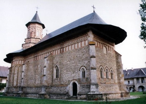 North view - Neamt Monastery, Romania