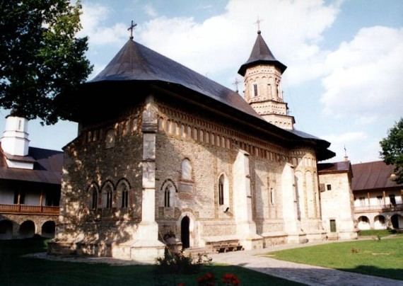 South view - Neamt Monastery, Romania