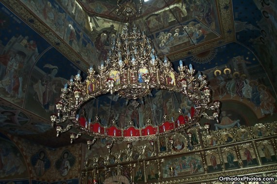 Inside the Church of the Petru Voda Monastery, Iasi, Romania (7)