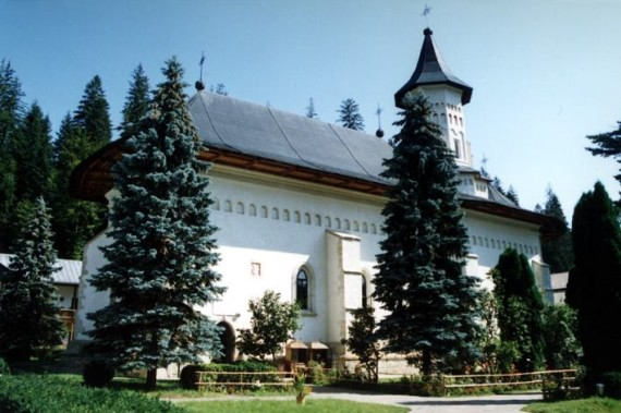 South view - Slatina Monastery, Romania