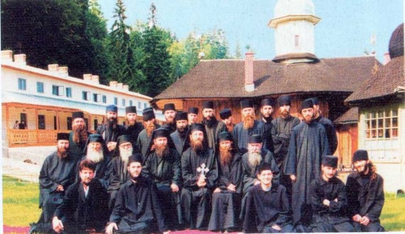 The Sihla Monastery monks (Romania)