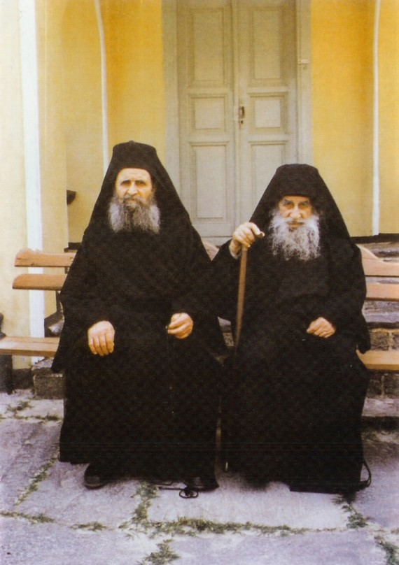 Together with his nephew, Hieromonk Haralambos