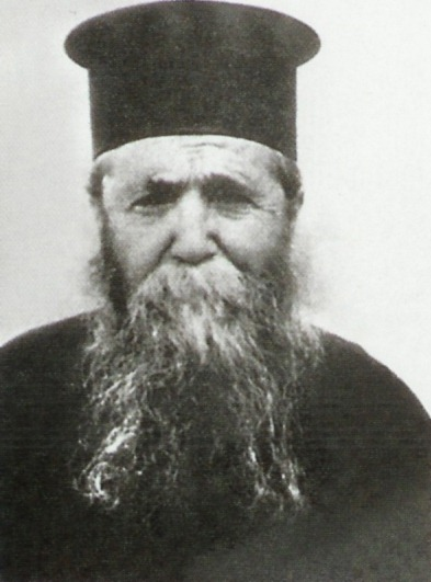 Blessed Elder Ieronim of Aegina, the first monastic spiritual father of Elder Arsenios