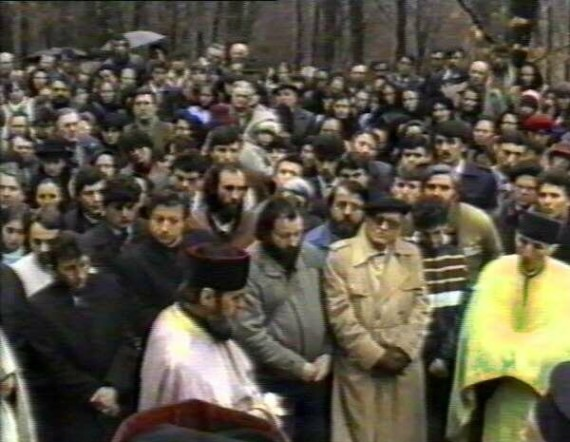 The funeral of monk Nicolae (2)