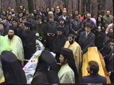 The funeral of monk Nicolae (3)