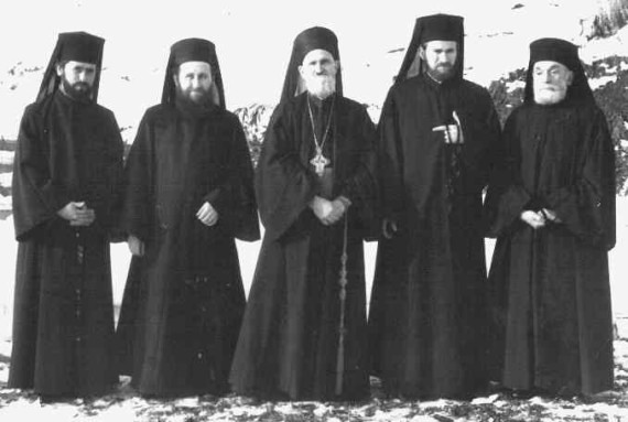 Group of monks - Rohia, 1989