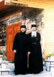 Fr. Rafail Noica and Fr. Dionisie of Albac Monastery