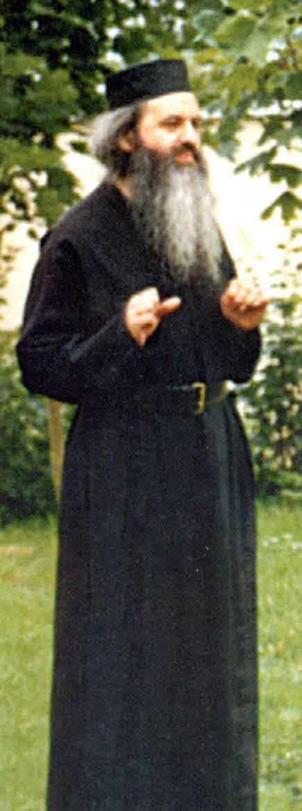 Fr. Rafail in his monastic cell (2)
