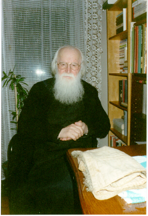 Fr. Sofian in his monastic cell (6)