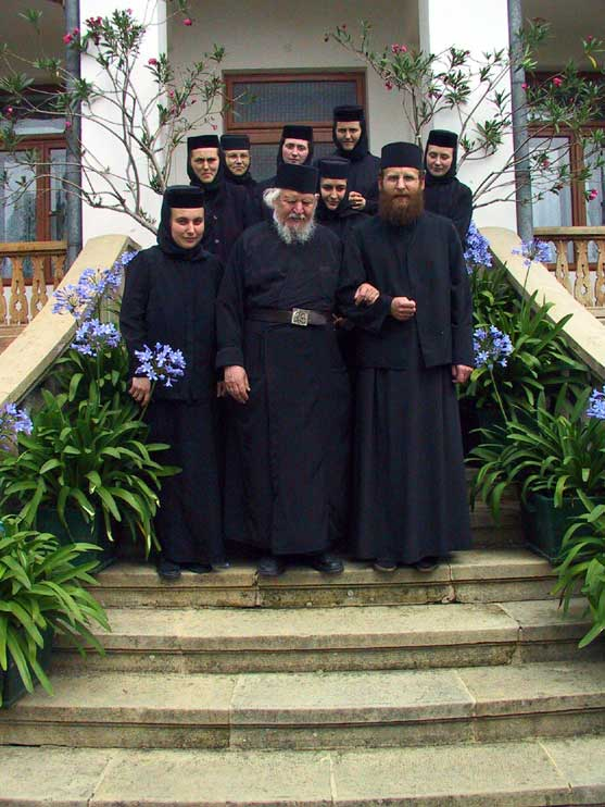 Fr. Teofil with a group of nuns and their confessor-priest (7)