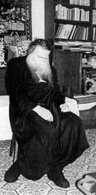 Archimandrite Iachint Unciuleac - egumen of Putna Monastery, Rumania (died in confession chair) (1)