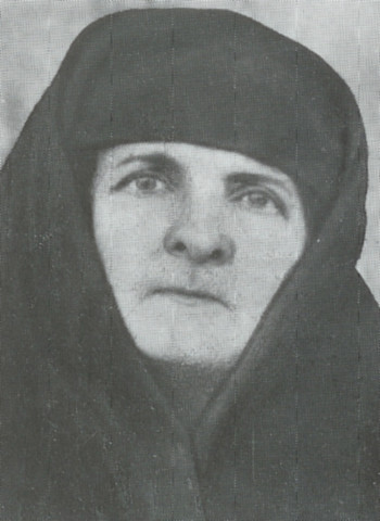 Schemanun Melania Mincu († 1969) / The Rumanian Skete from Jordan