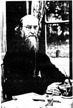 Fr. Sophrony in his cell (1960) (11)