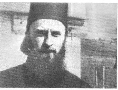 During his time as disciple in Karulia-Athos (1941)