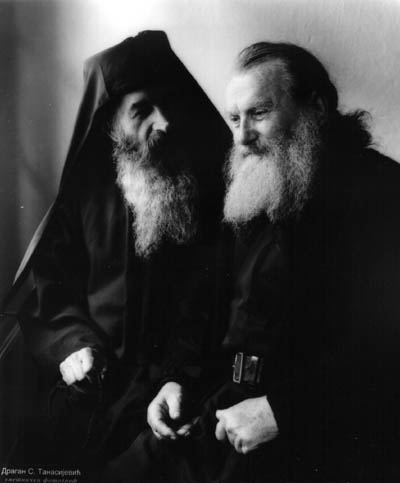 Fr. Kiril and Fr. Nikolaj, Serbia