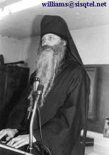 Lecturing on 'Putting Lent into Practice' at the Saint Herman Winter Pilgrimage, 1980 - Copyright � The Blessed Seraphim Hermitage