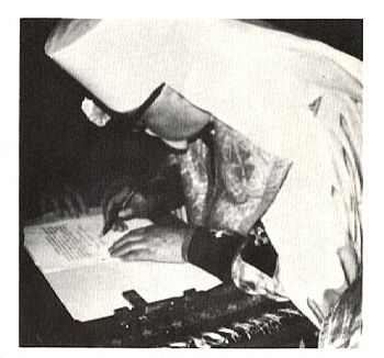 1. Metropolitan Ireney signs the Act of Intent to Canonize, 1969