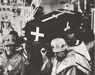 20. Procession with the Holy Relics at the Little Entrance, Sunday August 9, 1970 (2)
